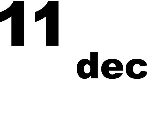 11 dicembre 2019