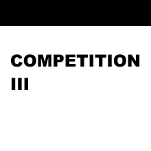 COMPETITION PROGRAM  III