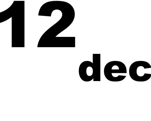 12 dicembre 2018