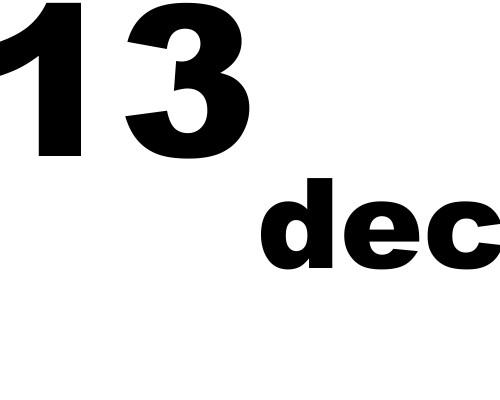 13 dicembre 2019