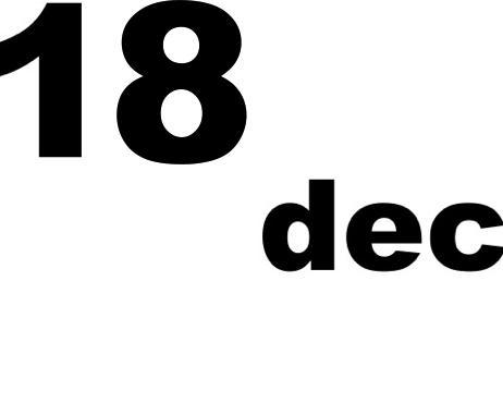 18 dicembre 2018