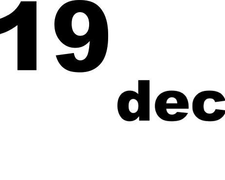 19 dicembre 2019