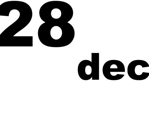 28 dicembre 2018