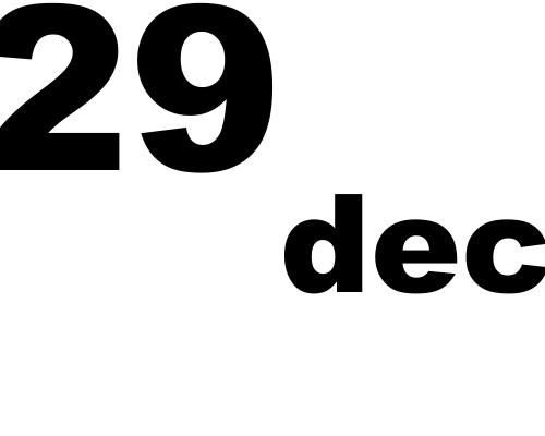 29 dicembre 2018