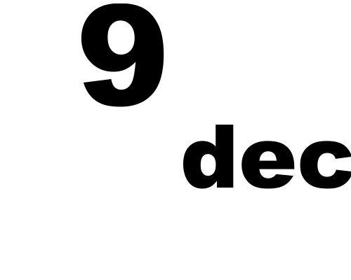9 dicembre 2019